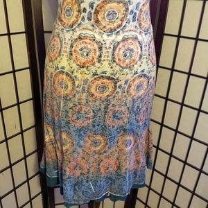 Dresses & Skirts - 💎Reversible Boho Style Yoga Skirt Size Large
